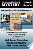 The Unsolved Oak Island Mystery 3 Book Bundle