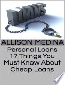 Personal Loans  17 Things You Must Know About Cheap Loans