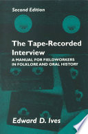 The Tape recorded Interview