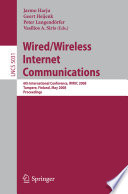 Wired Wireless Internet Communications
