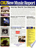 CMJ New Music Report Exclusive Charts Of Non Commercial And College Radio Airplay