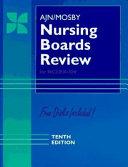 AJN Mosby Nursing Boards Review