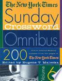 The New York Times Sunday Crossword Omnibus