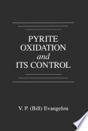 Pyrite Oxidation and Its Control
