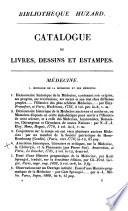 Catalogue des livres, dessins et estampes de la bibliothèque de feu m. J.-B. Huzard