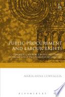 Public Procurement and Labour Rights