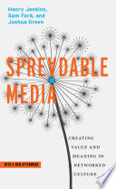Spreadable Media book