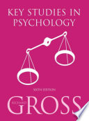 Key Studies in Psychology 6th Edition
