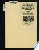 M. Erich Laxmann's sibirische Briefe