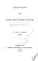 Selections from the British Poets Book PDF