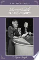 More Than Petticoats Remarkable Florida Women