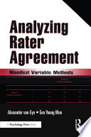 Analyzing Rater Agreement book