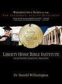 Liberty Home Bible Institute New Testament Acts Revelation