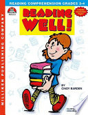 Reading Well Grades 3 4
