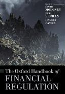 The Oxford Handbook of Financial Regulation