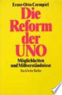 Die Reform der UNO