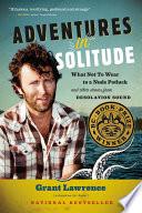 Adventures in Solitude