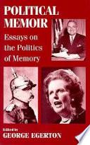 Political Memoir book