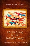 Returning to the Lakota Way