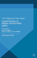 Transformations of Religion and the Public Sphere Book