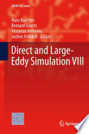 Direct and Large Eddy Simulation VIII