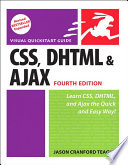 illustration CSS, DHTML, and Ajax, Fourth Edition