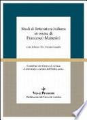 Studi di letteratura italiana in onore di Francesco Mattesini