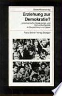 Erziehung zur Demokratie?