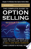 The Complete Guide to Option Selling, Second Edition, Chapter 16 - Mistakes New Option Sellers Make