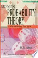 Modern Probability Theory
