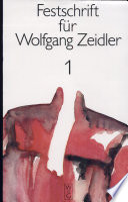 Festschrift für Wolfgang Zeidler