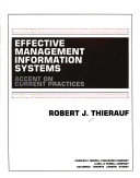 Effective Management Information Systems