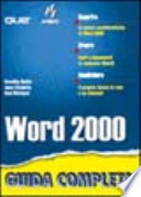 Word 2000 Guida Completa