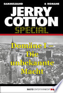 Jerry Cotton - Sammelband 1