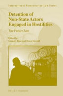 Detention of Non state Actors Engaged in Hostilities