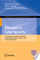 Advances In Cyber Security