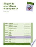 Tareas de administraci  n I  Sistemas operativos monopuesto