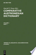 Comparative Austronesian Dictionary