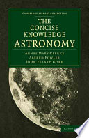 The Concise Knowledge Astronomy