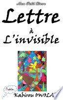 illustration Lettre à l'invisible
