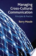 Managing Cross Cultural Communication