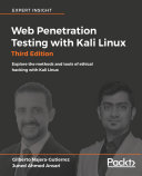 Web Penetration Testing With Kali Linux Third Edition