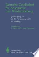 Deutsche Gesellschaft f  r Anaesthesie und Wiederbelebung