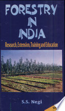 Forestry in India  Research  extension  training and education