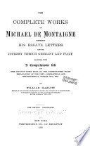 The Complete Works of Michael de Montaigne Book PDF