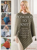 Ponchos to Knit
