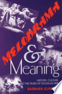 Melodrama and Meaning