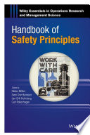 Handbook Of Safety Principles : ...