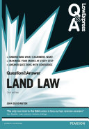 Law Express Question and Answer  Land Law
