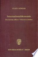 Internationalökonomie